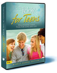 Theology of the Body for Teens: Middle School Edition: Set of 4