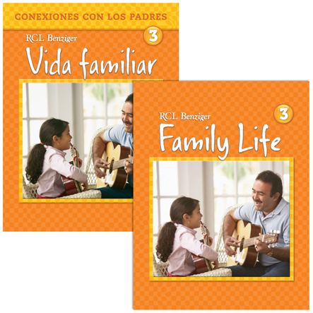 Family Life: Grade 3: Student /Parent Pack-Bilingual