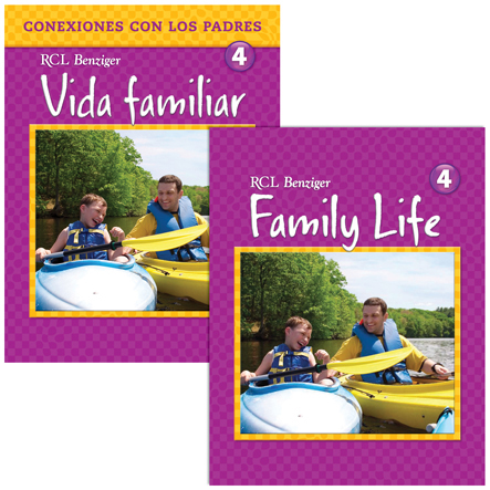 Family Life: Grade 4: Student /Parent Pack-Bilingual
