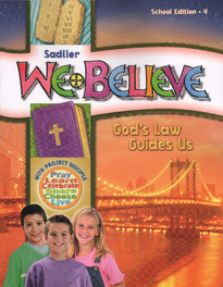 We Believe: God's Law Guides Us Grade 4 eBook