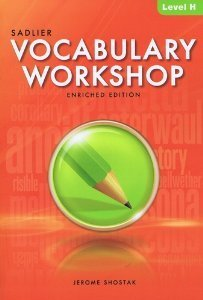 Vocabulary Workshop Student Edition eBook, Level H  Grade 12+