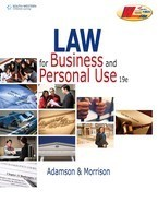 Law for Business and Personal Use ebook (1 Year Access)
