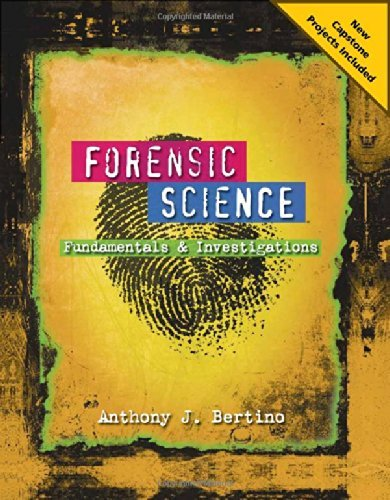 Forensic Science: Fundamentals and Investigations 2012 Update ebook (1 Year Access)