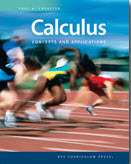 Calculus: Concepts and applications Student Edition eBook (1 year access)