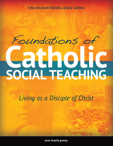 Foundations of Catholic Social Teaching: Living as a Disciple of Christ
