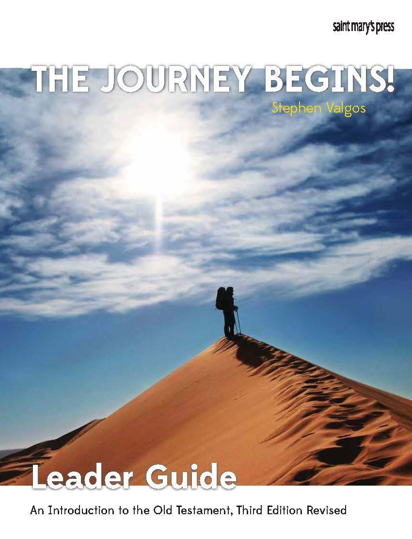The Journey Begins!  (Ebook LG):An Introduction to the Old Testament, Third Edition Revised (Leader Guide)