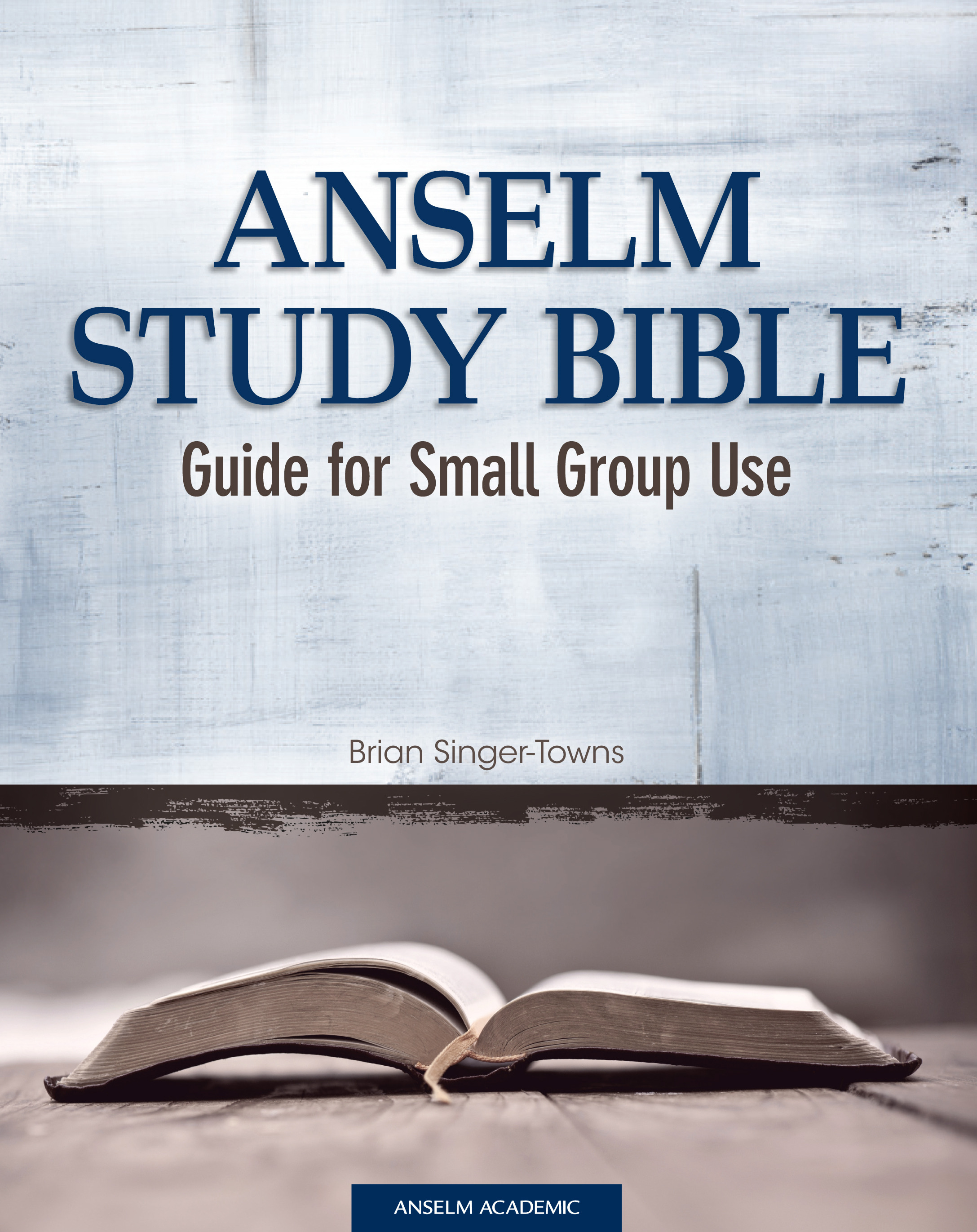 Anselm Study Bible Guide for Small Group Use - PDF