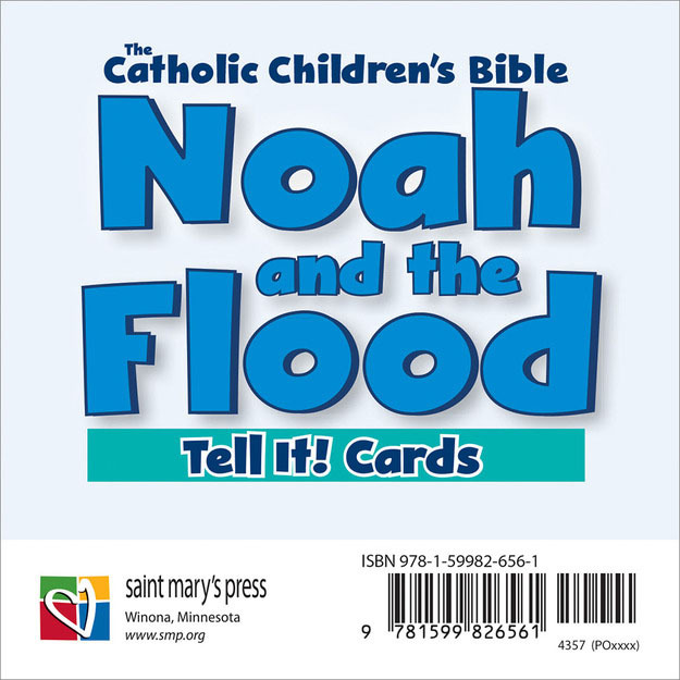 Noah and the Flood Tell It! Cards (3 cards)