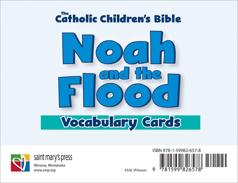 Noah and the Flood Vocabulary Cards (10 cards)