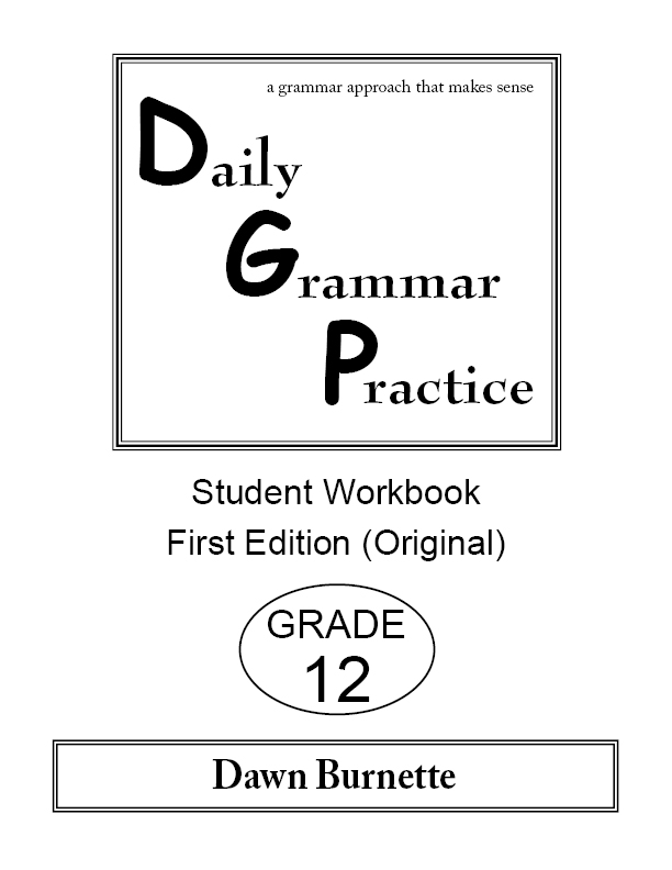 Daily Grammar Practice Student Workbook Grade 12