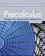 Precalculus: Graphical, Numerical, Algebraic (8th Edition) ebook
