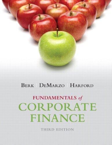 Fundamentals of Corporate Finance, 3/e eBook
