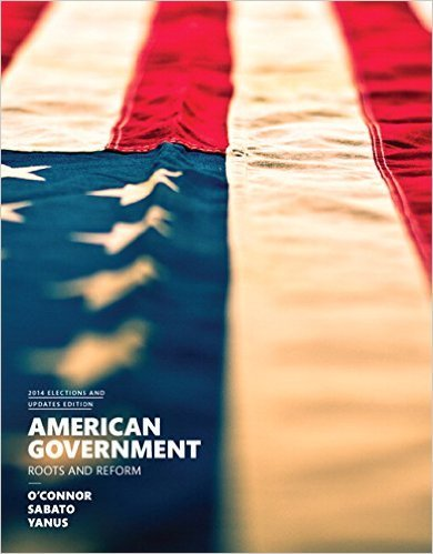 Pearson American Government, 2014 Elections and Updates, 12th Edition