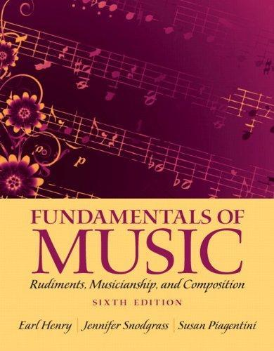 Fundamentals of Music: Rudiments, Musicianship, and Composition, 6/e eBook