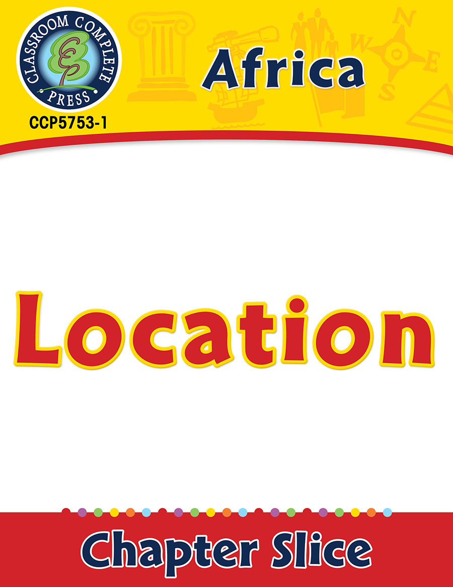Africa: Location Gr. 5-8