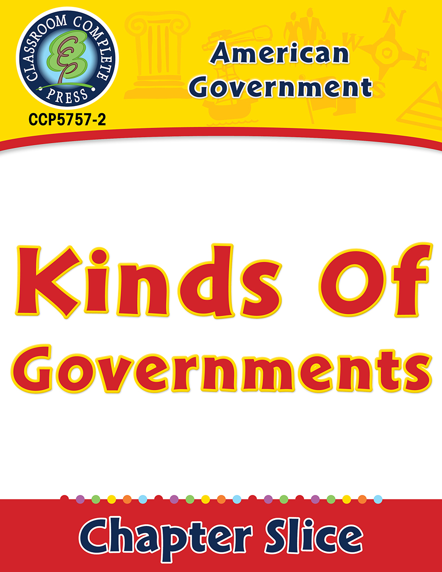 American Government: Kinds of Governments Gr. 5-8
