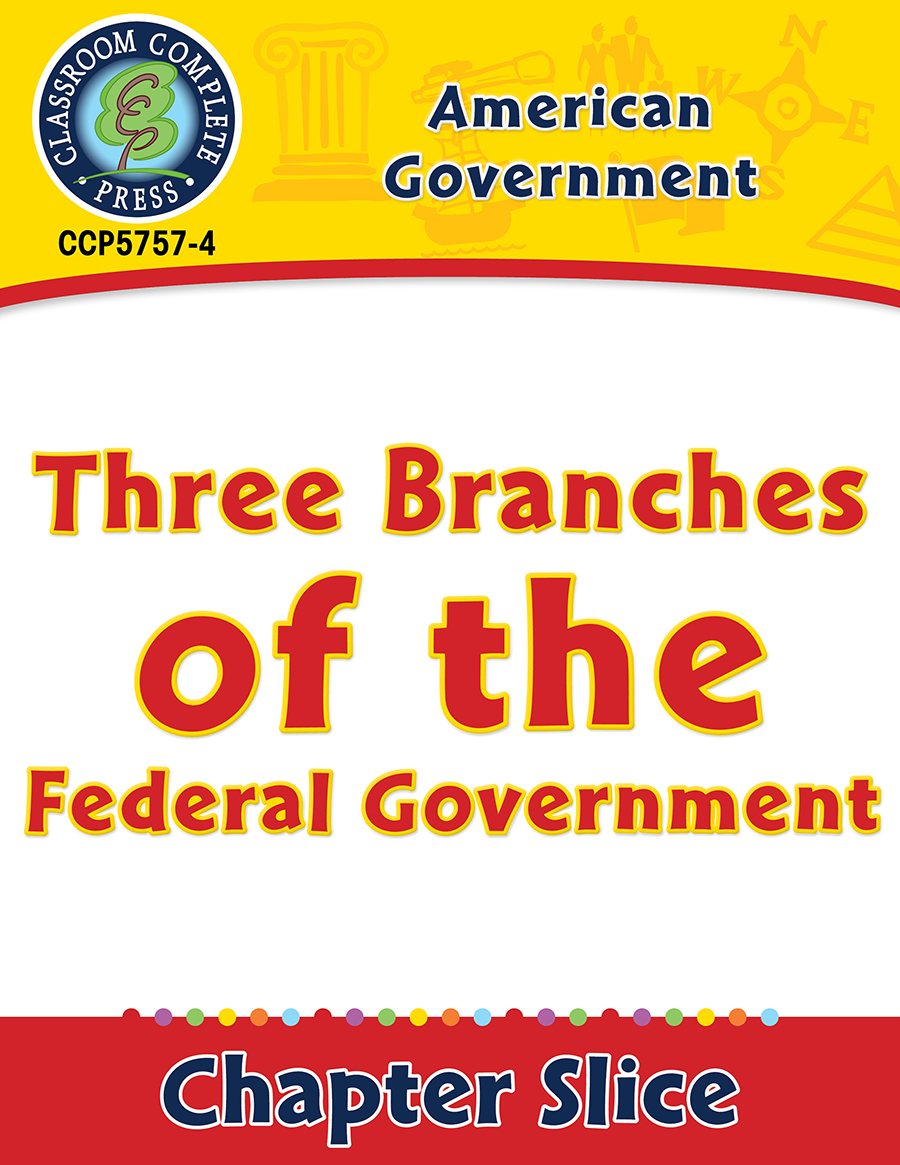 American Government: Three Branches of the Federal Government Gr. 5-8