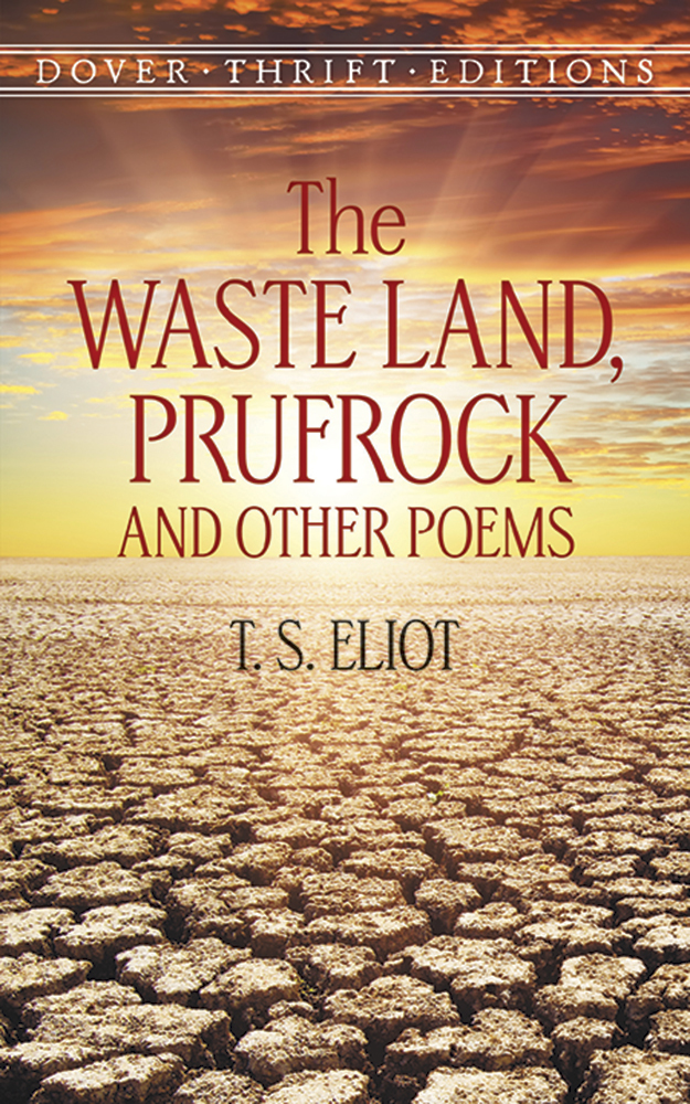 The Waste Land, Prufrock and Other Poems ePub (1 Year Access)