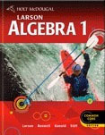 Holt McDougal Larson Algebra 1 Common Core Student Edition eTextbook ePub 1-Year 2012