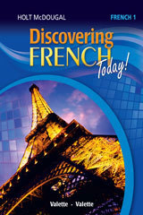 Discovering French Student Edition Level 1 (1 year access)