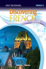 Holt McDougal Discovering French Today! Level 2 ebook (1 Year Access)