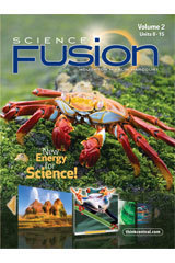 Houghton Mifflin Harcourt Science Fusion Grade 5 Student Edition 2012