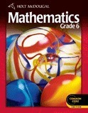 Holt McDougal Middle School Math Student Edition eTextbook ePub 1-Year Grade 6 2 012