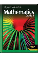 Holt McDougal Middle School Math Student Edition eTextbook ePub 1-Year Grade 8 2 012