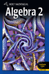 Holt McDougal High School Math Algebra 2 Student Edition eTextbook ePub 1-Year 2 012