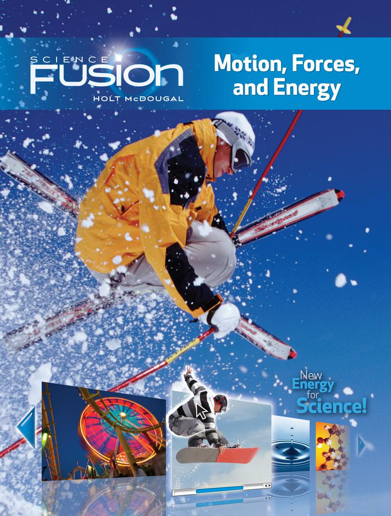 Houghton Mifflin Harcourt Science Fusion Module I Student Edition 2012