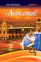 Holt McDougal Avancemos Student Edition eTextbook ePub 1-Year Level 1 2013 (1 year access)