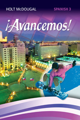Holt McDougal Avancemos Student Edition ebook 1-Year Level 3 2013 (1 year access)