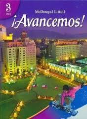 Holt McDougal Avancemos Level 3 Interactive eBook (1 Year Access)