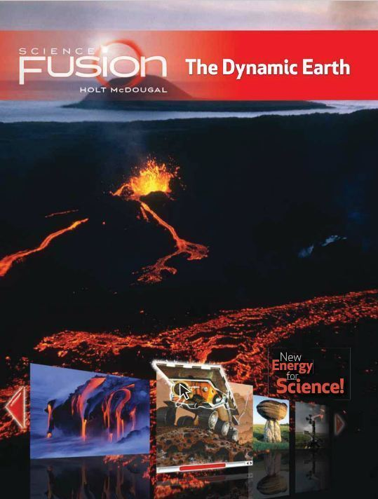 Houghton Mifflin Harcourt Science Fusion Module E Student Edition 2012