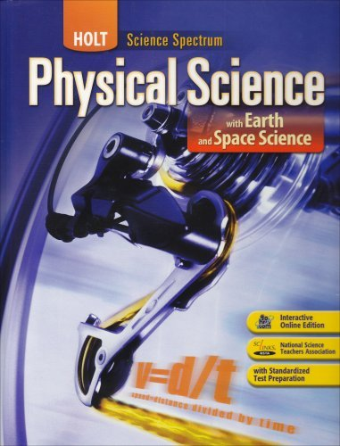 Holt McDougal Science Spectrum: Physical Science with Earth and Space Science ebook (1 Year Access)
