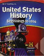 US History: Beginnings to 1914 ebook (1 Year Access)
