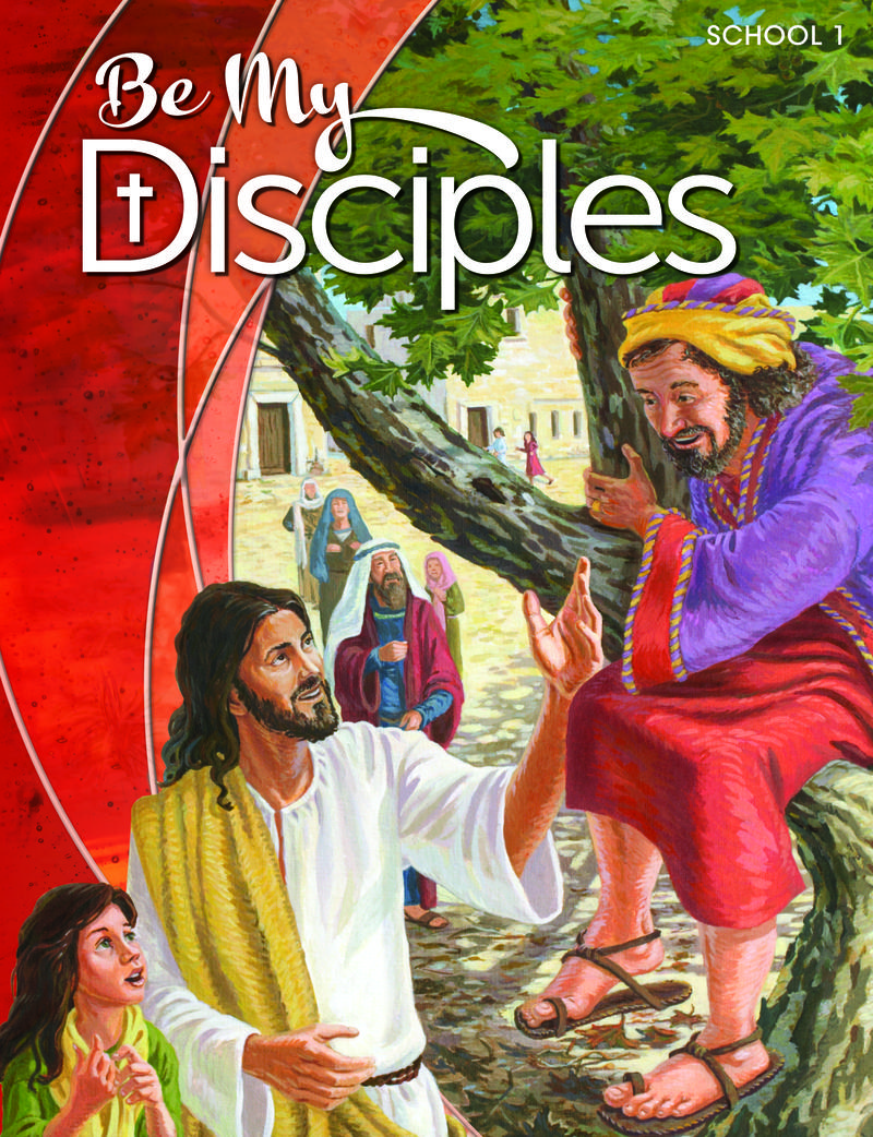 Be My Disciples School: Grade 1 Student Book  1 Year Online License