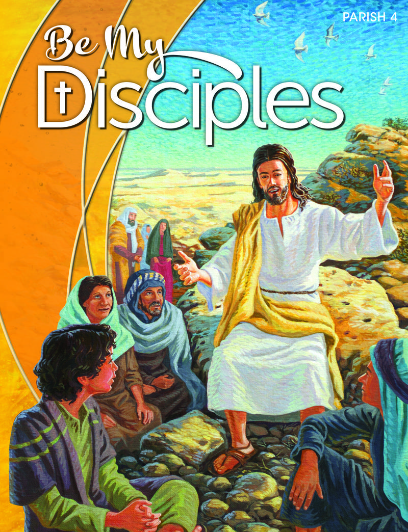 Be My Disciples Parish: Grade 4 Student Book 1 Year License