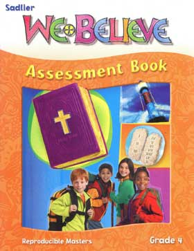 We Believe: Grade 4: God's Law Guides Us: Assessment Book