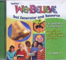 We Believe: Grade 3: We Are the Church: Test Generator CD