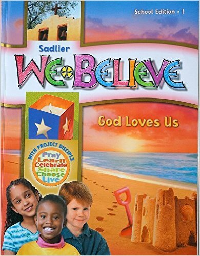 We Believe: God Loves Us Grade 1 eBook