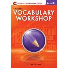 Vocabulary Workshop, Level B (Grade 7) eText (1 Year Access)