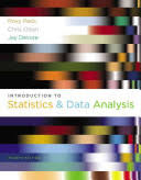 Introduction to Statistics and Data Analysis, 4th Edition ebook