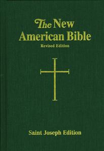 St. Joseph New American Bible: Green Large Type Hardcover