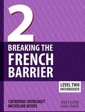Breaking the French Barrier Level 2 PRINT + eBook Bundle