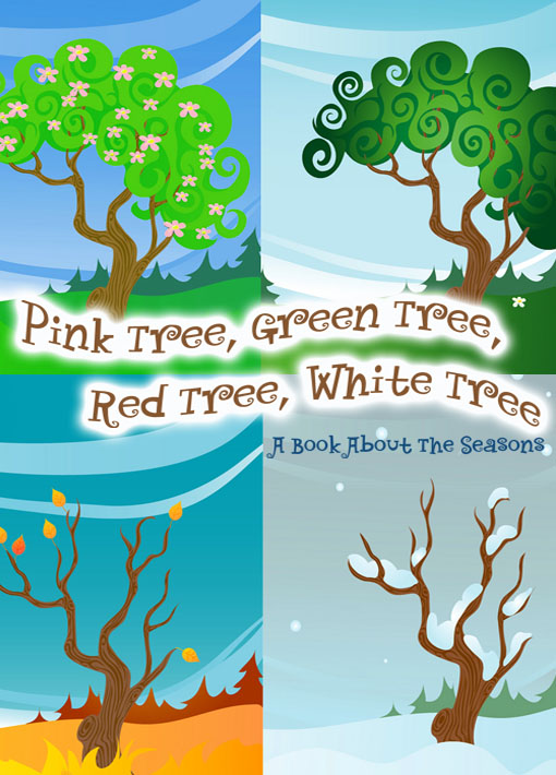Pink Tree, Green Tree, Red Tree, White Tree