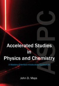Accelerated Studies in Physics and Chemistry 1st Edition (5-year license)