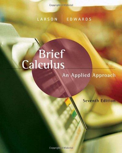 Brief Calculus: An Applied Approach ebook (1 Year Access)