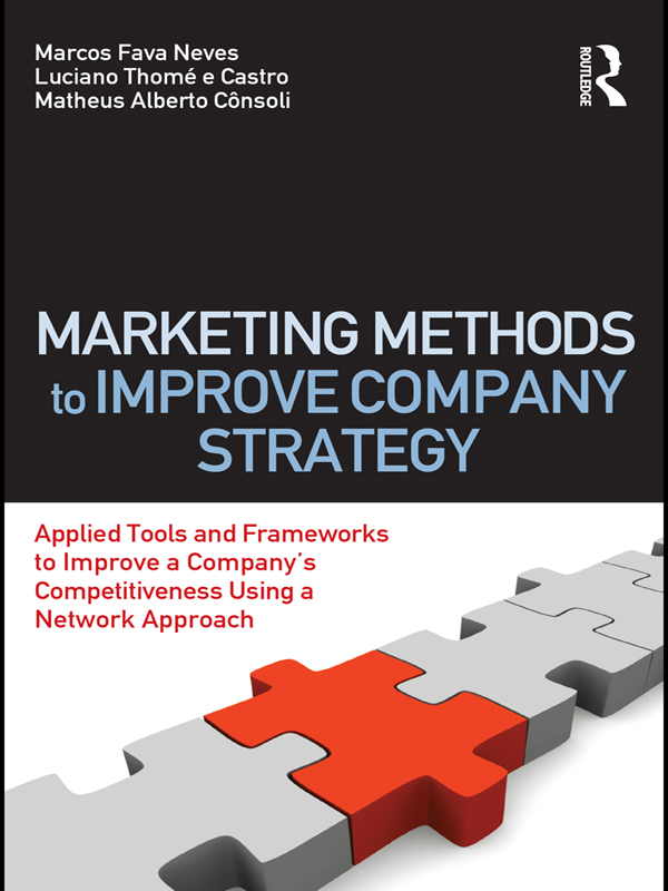 Marketing Methods to Improve Company Strategy: Applied Tools and Frameworks to Improve a Company's Competitiveness Using a Network Approach