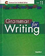 Grammar for Writing, Grade 11 Common Core Enriched Edition ebook (1 Year Access)